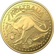 Australia 15 Dollars (4th Portrait - Kangaroo) AUSTRALIA 2019 1/10 OZ .9999 AU coin reverse
