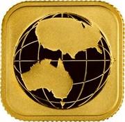 Australia 15 Dollars Australian Legal Tender Gold 2016  coin reverse
