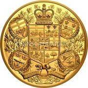 Canada 2,500 Dollars (Reimagined 1905 Arms of Dominion of Canada) DOMINION OF/DU CANADA coin reverse