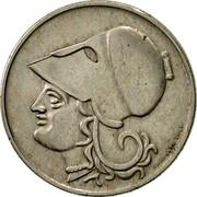 Greece 2 Drachmai Gillieron Fils 1926 KM# 70 GILLIERON FILS coin obverse