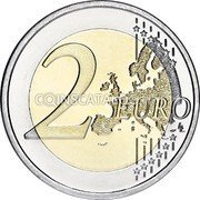 Greece 2 Euro (2500th Anniversary of the Battle of Thermopylae) 2 EURO LL coin reverse