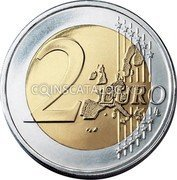 Finland 2 Euro (Enlargement of the European Union (Coloured 2)) 2 EURO LL coin obverse