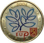 Finland 2 Euro (Enlargement of the European Union (Coloured 2)) 2004 EU MM coin reverse