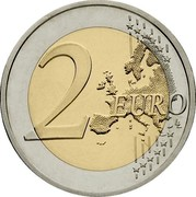 Cyprus 2 Euro Pafos Odeon Plain (Coloured) 2017 2 EURO LL coin reverse