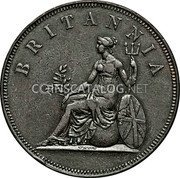 Greece 2 Oboli 1819 KM# 33 Decimal Coinage coin reverse