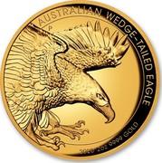 Australia 200 Dollars Wedge-Tailed Eagle 2020 Proof AUSTRALIAN WEDGE-TAILED EAGLE 2020 2 OZ 9999 GOLD coin reverse