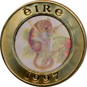Ireland 25 Euro Pattern 1997 ÉIRE 1997 coin obverse