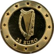 Ireland 25 Euro Pattern 1997 25 EURO coin reverse