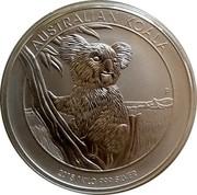 Australia 30 Dollars Australian Koala 2015  AUSTRALIAN KOALA P 2015 1 KILO 999 SILVER coin reverse
