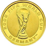 Australia 4 Dollars (FIFA World Cup) KM# 853 2006 FIFA WORLD CUP GERMANY™ coin reverse