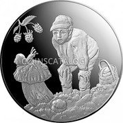 Latvia 5 Euro (Gifts of the Forest)  coin reverse