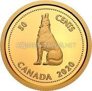 Canada 50 Cents (Tribute to Alex Colville) 50 CENTS CANADA 2020 coin reverse