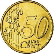 Greece 50 Euro Cent 2003 KM# 186 Euro Coinage 50 EURO CENT coin reverse