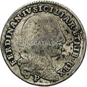 Greece 50 Paras (1814) KM# 22.2 Countermarked Coinage coin obverse