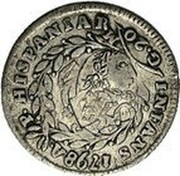 Greece 50 Paras George III (1814) KM# 22.2 INFANS 1798 A P HISPANIAR M G 20 50 coin reverse