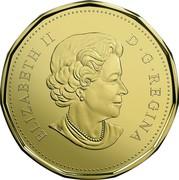 Canada Dollar Holiday 2018 D G REGINA ELIZABETH II SB coin obverse