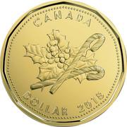 Canada Dollar Holiday 2018 2018 CANADA DOLLAR coin reverse