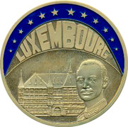 Luxembourg ECU 1993 UNC Standard Coinage LUXEMBOURG coin obverse