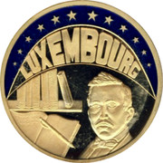 Luxembourg ECU 1994 UNC Standard Coinage LUXEMBOURG coin obverse