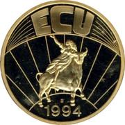 Luxembourg ECU 1994 UNC Standard Coinage ECU 1994 coin reverse