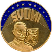 Finland ECU 1997 UNC Decimal Coinage SYOMI coin obverse