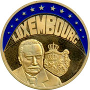 Luxembourg ECU 1997 UNC Standard Coinage LUXEMBOURG coin obverse
