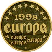 Finland ECU Martti Antisaari 1998 EUROPA EUROPE 1998 coin reverse