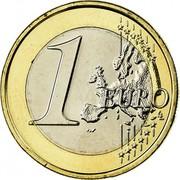 Greece Euro Owl 2008 KM# 214 1 EURO coin reverse