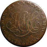 Ireland Halfpenny (Dublin - Camac Kyan and Camac John of Gaunt) CAMAC KYAN AND CAMAC HALFPENNY coin obverse
