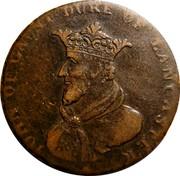 Ireland Halfpenny (Dublin - Camac Kyan and Camac John of Gaunt) IOHN OF GAUNT DUKE OF LANCASTER coin reverse
