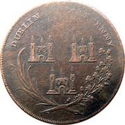 Ireland Halfpenny Dublin - God grant Peace ND (1795)  DUBLIN HALFPENNY coin reverse