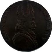 Ireland Halfpenny Wicklow Cronebane - Standing Justice 1794  CRONEBANE HALFPENNY coin obverse