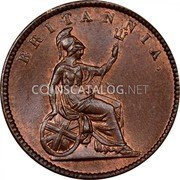 Greece Lepton 1853 . KM# 34 Decimal Coinage coin reverse