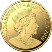 Australia Twenty Five Dollars 6th Portrait - Australian Coinage Portrait 1998-2019 2019 Proof ELIZABETH II • AUSTRALIA 2019 JC coin obverse