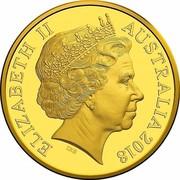 Australia Twenty Five Dollars Armistice Centenary 2018 ELIZABETH II AUSTRALIA 2018 coin obverse