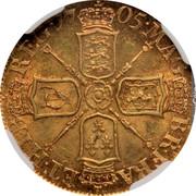 UK 1/2 Guinea KM# 510 The Royal Mint MAG BRI FR ET HIB REG coin reverse