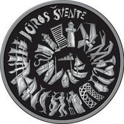 Lithuania 1.5 Euro The Sea Festival 2020 JŪROS ŠVENTE coin reverse