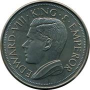 Canada 1 Crown Edward VIII Token 1936 UNC X# 3a EDWARD VII KING E EMPEROR coin obverse