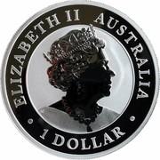 Australia 1 Dollar Australian Emu 2020 P ELIZABETH II AUSTRALIA 1 DOLLAR coin obverse