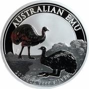 Australia 1 Dollar Australian Emu 2020 P AUSTRALIAN EMU 2020 1OZ 9999 SILVER coin reverse