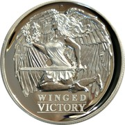 Australia 1 Dollar Winged Victory 2021 P Proof High Relief P WINGED VICTORY coin reverse