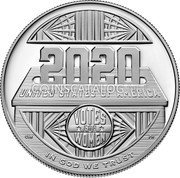 USA 1 Dollar (Women's Suffrage Centennial) VOTES FOR WOMEN UNITED STATES OF AMERICA IN GOD WE TRUSTั coin reverse