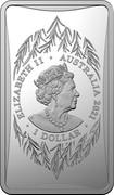 Australia 1 Dollar Year of the Ox 2021 ELIZABETH II AUSTRALIA 2021 1 DOLLAR coin obverse