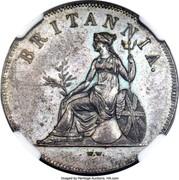 Greece 1 Obol Trial Strike 1819 KM# Pn4 BRITANNIA coin reverse