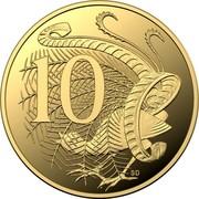 Australia 10 Cents 2020 Proof Commonwealth of Australia 10 SD coin reverse