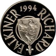 Greece 10 ECU Greek Presidency 1994 Proof 1994 RICHARD FALKINER coin obverse