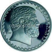 Greece 10 Euro (2500th Anniversary of the Battle of Salamis) ΘΕΜΙΣΤΟΚΛΗΣ 524 459 π.Χ. 2020 coin obverse