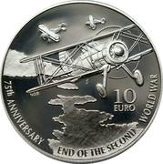 Malta 10 Euro 75th Anniversary End of World War II 2020 NGB 10 EURO 75TH ANNIVERSARY END OF THE SECOND WORLD WAR coin reverse