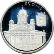 Finland 10 Euro Suomi 1996 G UNC SUOMI coin reverse