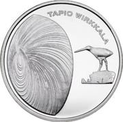 Finland 10 Euro Tapio Wirkkala 2015 Proof TAPIO WIRKKALA coin reverse